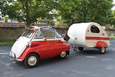 Yeah, we'll hook the Piccolino to the Isetta and head up to Sturgis.