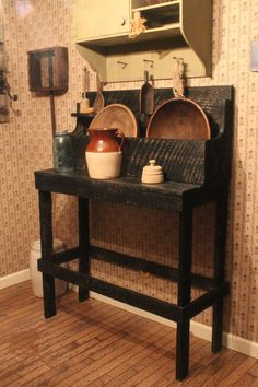 Primitive Dry Sink. $300.00, via Etsy.