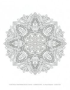 mandala pour adulte de multiples insipirations dans 11 coloriages de mandalas pour adultes imprimer pour