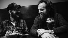 Ben Bridwell of Band of Horses and Sam Beam of Iron & Wine team up on Sing Into My Mouth, a new album of covers.