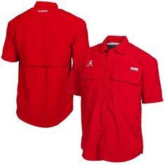 Alabama Crimson Tide Swivel Fishing Shirt – Crimson