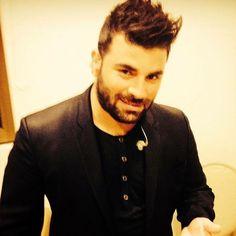 Greek Music, Video Clip, Beard Styles, Celebs, Mens Tops, T Shirt, Beards, Wallpapers, Random