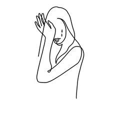Zajęte #cry #woman #sad #tears #face #lady #black #ink #inked #oneline #minimalistic #minimaltattoo #warsaw #poland #polandtattoos #art…