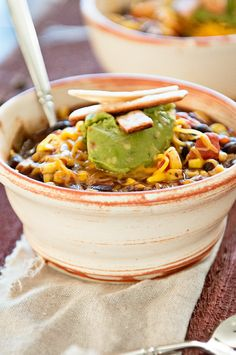 Try THIS tasty twist for Taco Tuesday... Taco and Chili get together and make a wonderful Taco Chili Recipe!