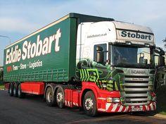 SCANIA TopLine Eddie Stobart Trucks, Swedish Brands, Showroom, Cars, Autos, Car, Automobile, Fashion Showroom, Trucks