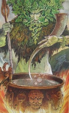 Hé lộ Lá The Green Man - Wildwood Tarot bài tarot Fantasy Kunst, Fantasy Art, The Emperor Tarot, Wildwood Tarot, Pagan Art, Tarot Major Arcana, Celtic Art, Wiccan, Magick