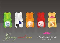 Gummy Bears can be social!
