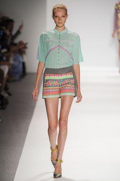 SPRING 2014 RTW: Custo Barcelona - Look 14 (Source: Style.com)