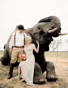 This African Safari Wedding Will Leave You Craving a Big Adventure