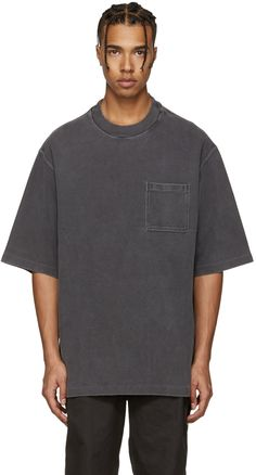 YEEZY Season 3 - Grey Rugby Knit T-Shirt