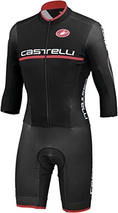 Castelli Cross Sanremo Thermoflex Speedsuit  Mens Black 3XL *** You can find more details by visiting the image link.