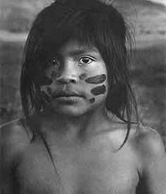 menina índia - Sebastião Salgado