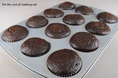 For the Love of Cooking » Super Moist Chocolate Cupcakes with Vanilla Buttercream Frosting  Made these last night - SUPER good