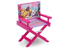 Coming soon to a playroom near you: the Nick Jr. PAW Patrol – Skye & Everest - Director's Chair from Delta Children! A comfy, adaptable and practical toddler chair, it's the perfect size for your mini