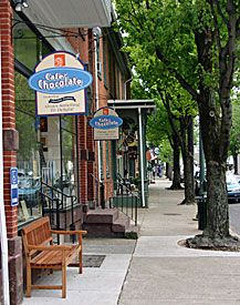 The Village of Lititz -  Lancaster County, PA  Lititz is a beautiful little town...so peaceful...love the Town Square!