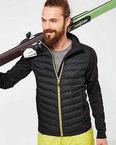 Lyžiarsky outfit & lyžiarsky výstroj pre dámy a pánov – v Tchibo Motorcycle Jacket, Winter Jackets, Amp, Outfits, Fashion, Winter Coats, Moda, Suits, Winter Vest Outfits