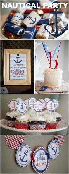 nautical birthday party ideas | Nautical Birthday Party Ideas
