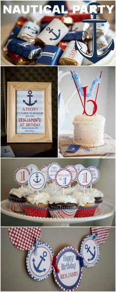 nautical birthday party ideas | Nautical Birthday Party Ideas