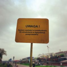 Cracow, attention