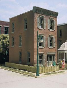 DPM (HO Scale) 100 Series Kits #11100 -- Townhouse #3  - NIB #WoodlandScenics