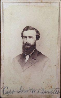 BARTLETT, THOMAS W. - CPT -   St Francis Co, AR -  Wounded at Atlanta, GA 22 Jul 1864. Captured in Franklin Co, Arkansas sent to Fort Delaware, Del  Discharge 9 Jan 1865. 13 Arkansas Infantry.