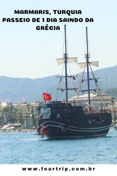 Marmaris: Turquia e Grécia em apenas 1 hora de barco. #viagem #turquia #grecia #ilhaderodes #rodesgrecia