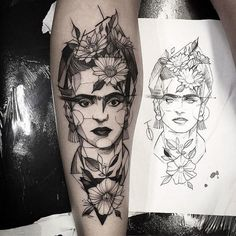 19 Beautiful Tattoos Inspired by Classical Works of Art | BlazePress