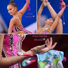 Arina AVERINA (Russia)🇷🇺 ~ Collage Clubs @ GP Moscow 02/2017🇷🇺👍🏼👍🏼     Photographer 🇷🇺Oleg Naumov.