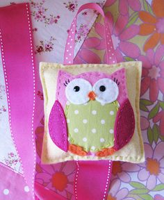 Owl Hair Bow Holder