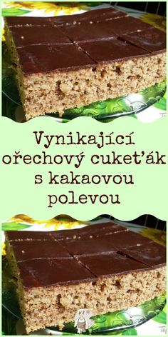 Czech Recipes, No Cook Desserts, Desert Recipes, Sweet Recipes, Pavlova, Zucchini, Deserts, Food And Drink, Cooking Recipes