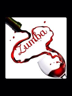 zumba wine.The idea of simplicity and creativity