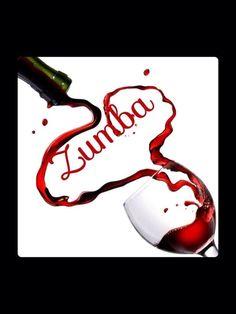 zumba wine.The idea of simplicity and creativity