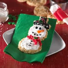 Kellogg's® Rice Krispies Treats® Snowman Snacks