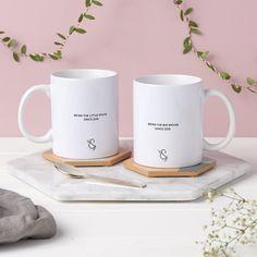 Big Spoon, Little Spoon Personalised Mug Set
