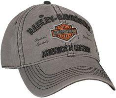 7c294cd3a31 Harley-Davidson Men s Embroidered Bar  amp  Shield Baseball Cap