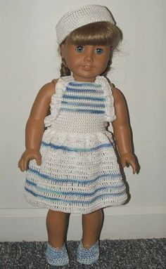 """free pattern 18"""" doll Anchors Aweigh 1"""