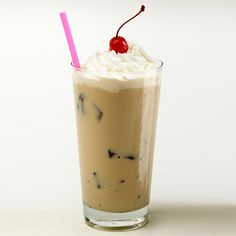 RumChata Iced Coffee 1 oz RumChata 3 oz Coffee (room temperature) over ice in a Collins glass