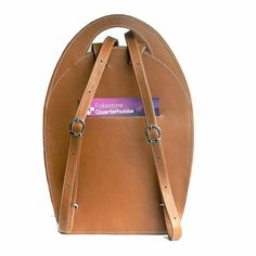 Luxury Camel Leather Backpack for Women от StevenHarkinHandBags