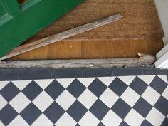 Image result for tiled front door step Door Steps, House, Front Door, Front Door Steps, Doors