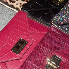 Our clutches each have their own #DVFSecretAgent names and personalities. Meet them all: http://on.dvf.com/1NAn7dL