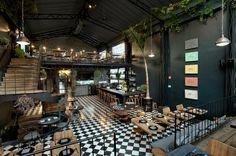 Romita Comedor restaurant in Mexico City / http://www.rostyleandlife.com/ro/pl/home/64-lifestyle-pl/modne-miejsca-pl/1869-romita-comedor
