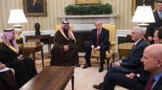 Trump meets top Saudi prince as Yemen war ragesRead full details