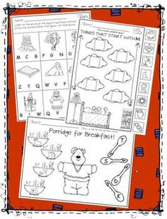 BEGINNING SOUNDS * PRINTABLES AND CARDS - TeachersPayTeachers.com