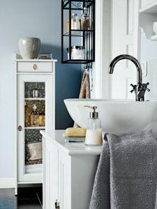 Ikea bathroom furniture ...the sink
