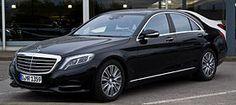 Mercedes-Benz S-Class (W222) (a.k.a. 2016 Mercedes-Maybach Pullman). Longest current production car: 21.3 ft. long