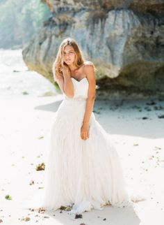 wedding dress idea; photo: Nadia Hung Photography