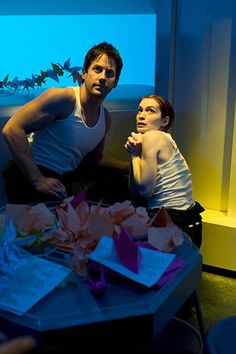"Eureka - Season 4 - ""Of Mites and Men"" - Niall Matter and Felicia Day"