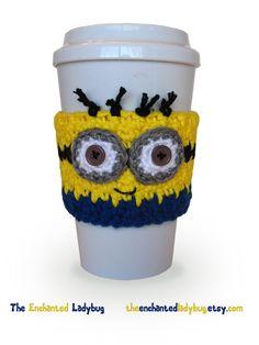 Bonneterie Minion inspiré de tasse à café par TheEnchantedLadybug