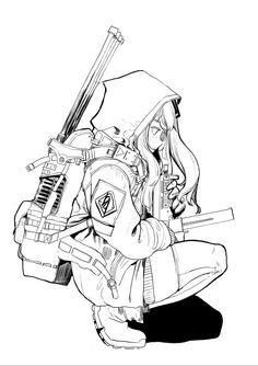 (소녀전선) 흥국이랑 움사오랑 싸우는 만화 -4- | 팬픽/패러디만화 | 루리웹 모바일 Comic Art, Character Design, Character Art, Character Illustration, Anime Drawings Sketches, Illustration Character Design, Art Sketches, Anime Drawings, Anime Lineart