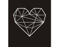 geometric heart - Google Search